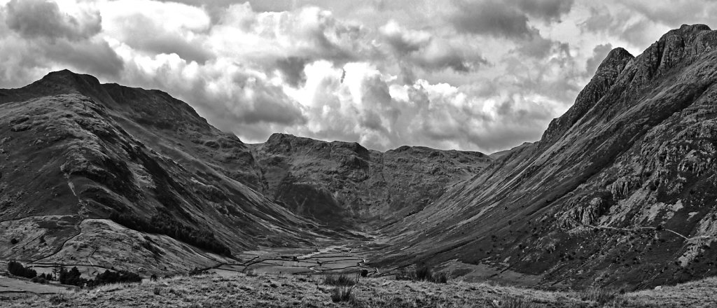 Bowfell and Rossett Pike