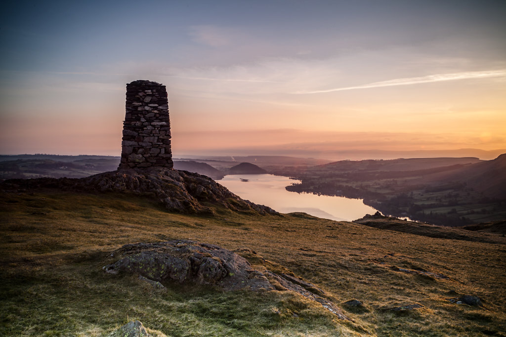 Hallin Fell Sunrise .