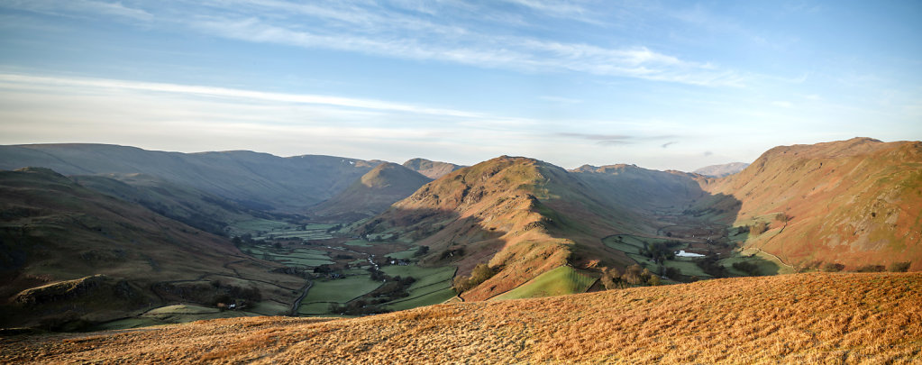 Howe Grain and Boredale from Hallin Fell